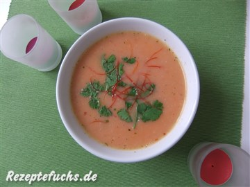 Erdnuss-Kokos-Suppe
