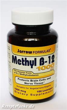 Jarrow Formulas Methyl B-12 1000mcg