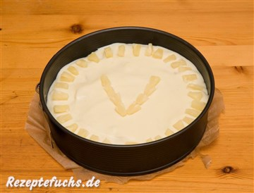 Virgin Colada Torte