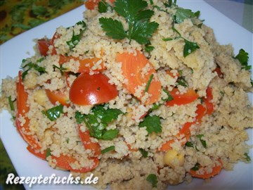 Warmer Couscous-Salat