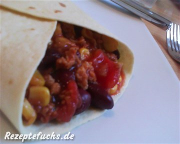 Wraps mit Chili