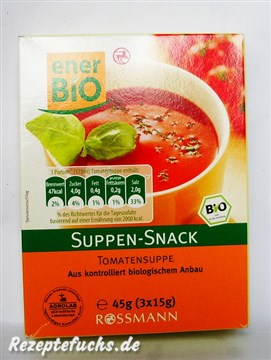 enerBiO Suppen-Snack Tomatensuppe