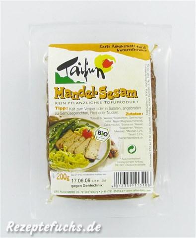 Taifun Tofu-Schnitte Mandel-Sesam